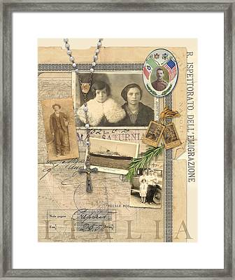Italia Framed Print by Dick Allowatt