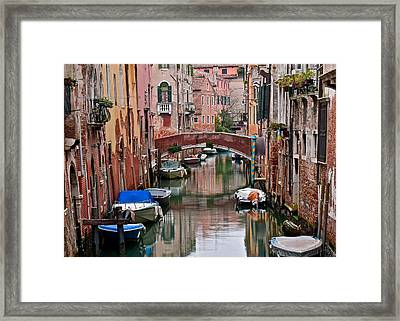 Italian Ambiance Framed Print by Frozen in Time Fine Art Photography