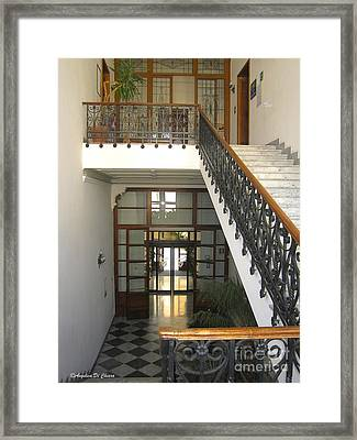 Italian Architecture- Palazzo Provincia Palace Framed Print by Italian Art