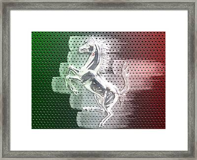 Italian Icon Framed Print by Andrea Barbieri