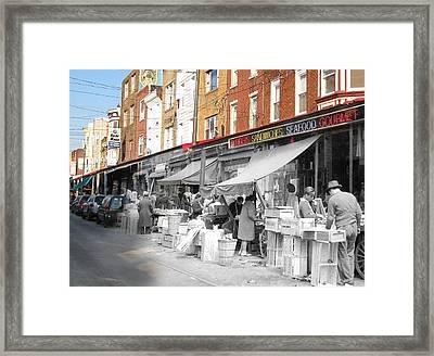 Italian Market Framed Print by Eric Nagy