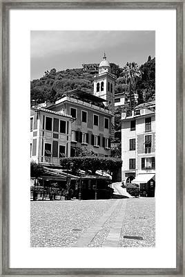 Italian Riviera Framed Print by Corinne Rhode