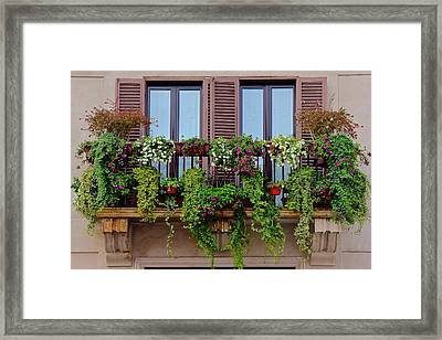 Italy Framed Print by Frozen in Time Fine Art Photography