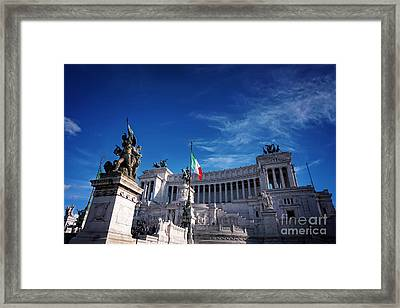 Italy Framed Print by HD Connelly