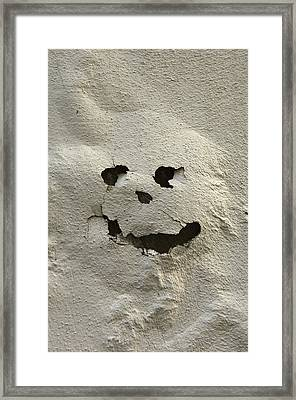 Italy, Tuscany, Florence, Spooky Face Framed Print by Keenpress