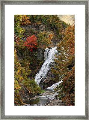 Ithaca Falls Framed Print by Jessica Jenney