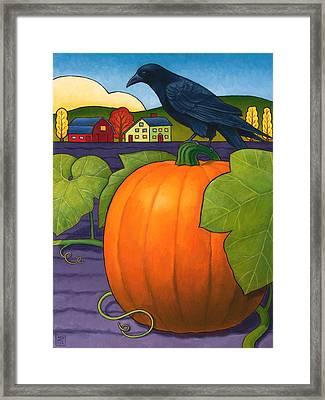 Its A Great Pumpkin Framed Print by Stacey Neumiller