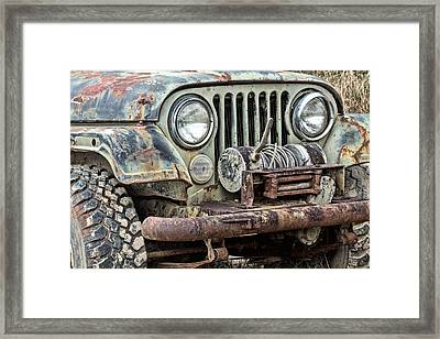 It's A Jeep Thing Framed Print by JC Findley