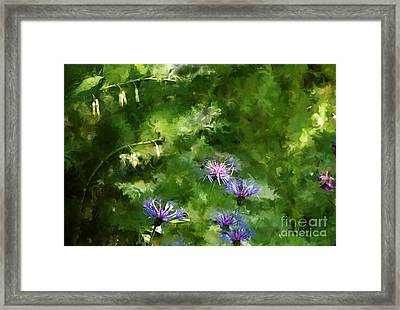 It's A Still Life I Want To Color Framed Print by David Lane