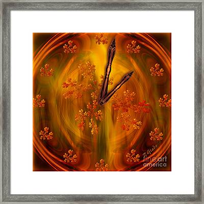 It's Autumn Time Framed Print by Giada Rossi