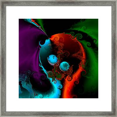 Its Going To Be Twins Framed Print by Claude McCoy
