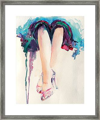 It's Party Time Framed Print by Stephie Butler