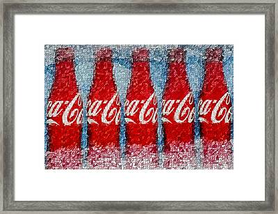 It's The Real Thing Framed Print by Susan Candelario