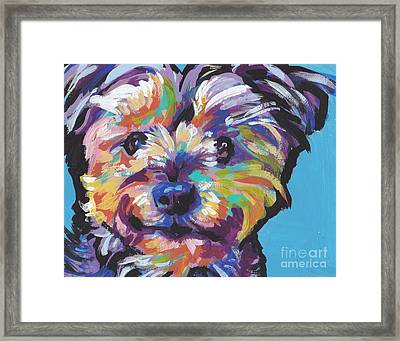 Itsy Bitsy Best Friend Framed Print by Lea S