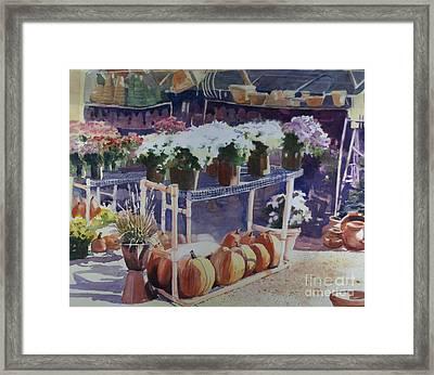 Ivy Corners Framed Print by Elizabeth Carr