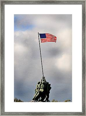 Iwo Jima Framed Print by Lyle  Huisken