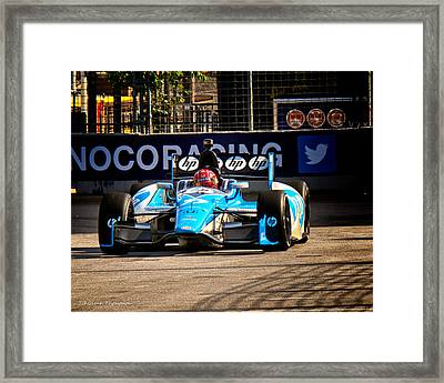 Izodindy Car Framed Print by Glenn Thompson
