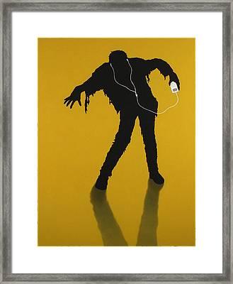 iZombie Framed Print by James W Johnson