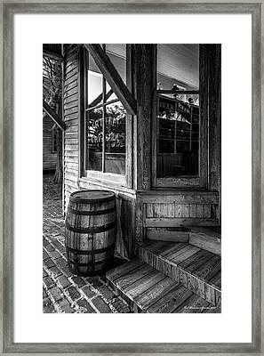 J. R. Terry Dry Goods 1879 Framed Print by Marvin Spates