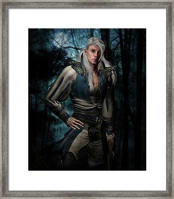 Jack Of Hearts Framed Print by Suzanne Amberson