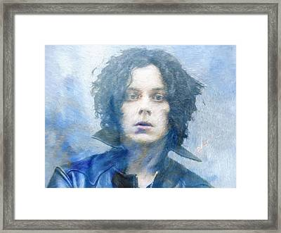 Jack White Framed Print by Dan Sproul