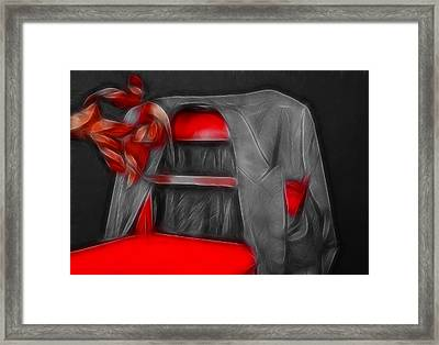 Jacket Framed Print by Manfred Lutzius