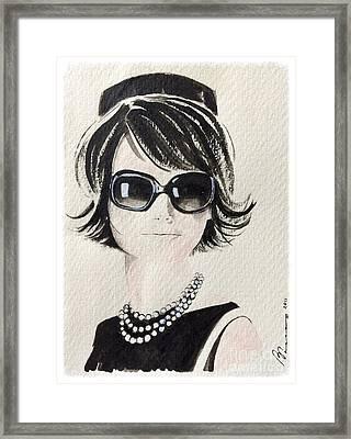 Jackie  Framed Print by Barbara Chase