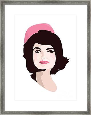 Jackie  Framed Print by Lauren Amelia Hughes