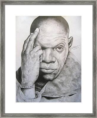 Jackson By Kyle Anderson Framed Print by Joyce Owens