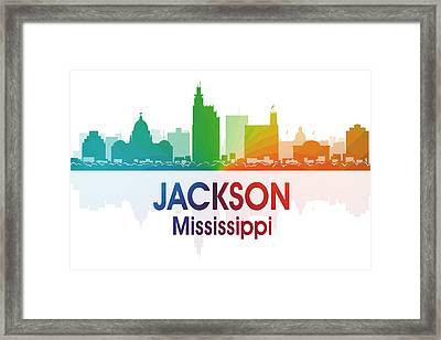 Jackson Ms Framed Print by Angelina Vick
