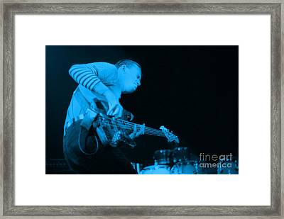 Jaco Up The Deck Framed Print by Philippe Taka