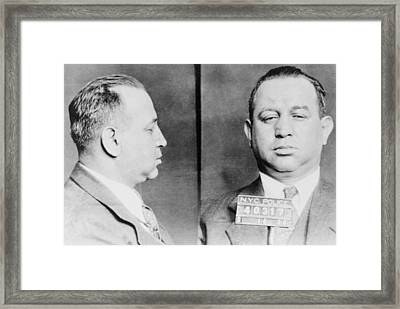 Jacob Gurrah Shapiro 1899-1947 Framed Print by Everett