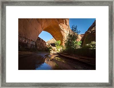 Jacob Hamblin Arch Framed Print by Michael J Bauer