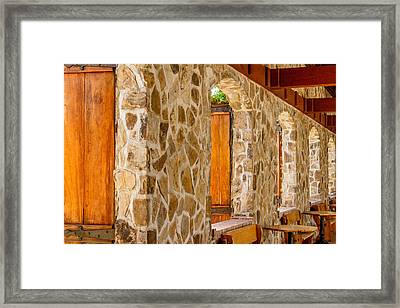 Jacuzzi Winery Framed Print by Bill Gallagher