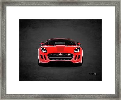 Jaguar F Type Framed Print by Mark Rogan