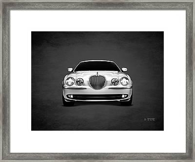 Jaguar S Type Framed Print by Mark Rogan