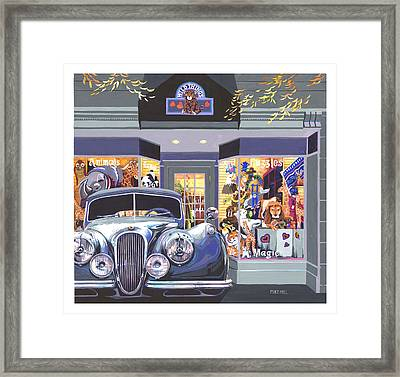 Jaguar The Wild Thing Framed Print by Mike Hill