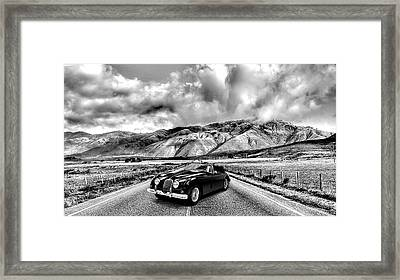Jaguar Xk150 1960 Framed Print by Mark Rogan