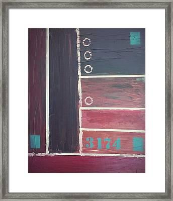 Jailed Harmony Framed Print by Ryan Adams