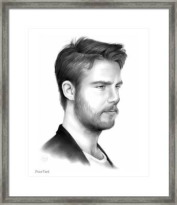 Jake Mcdorman Framed Print by Greg Joens