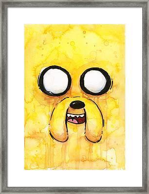 Jake Framed Print by Olga Shvartsur