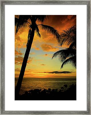Jamaican Night Framed Print by Kamil Swiatek