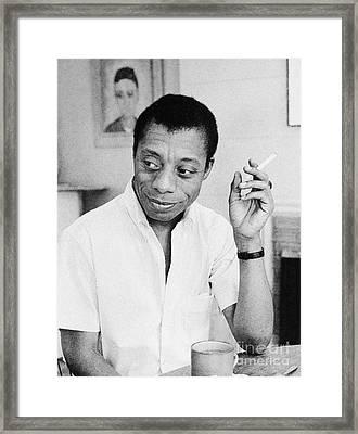 James Baldwin (1924-1987) Framed Print by Granger
