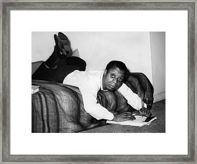 James Baldwin, 1963 Framed Print by Everett