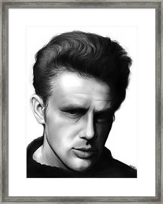 James Dean Framed Print by Greg Joens