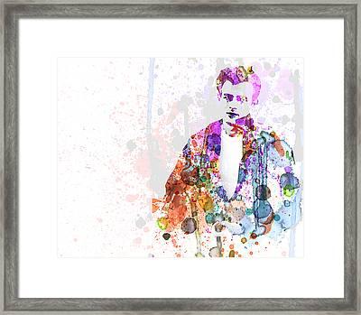 James Dean Framed Print by Naxart Studio