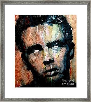 James Dean Framed Print by Paul Lovering