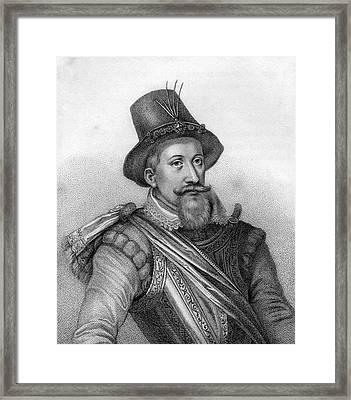 James I 1566-1625 King Of Scotland As Framed Print by Vintage Design Pics