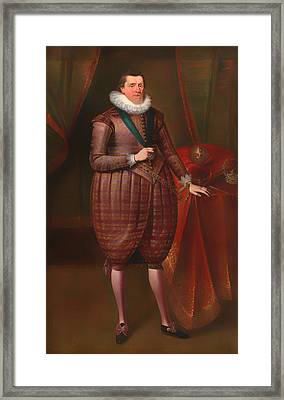 James I Of England Framed Print by Mountain Dreams