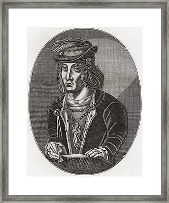 James IIi, King Of Scots, 1451 Framed Print by Vintage Design Pics